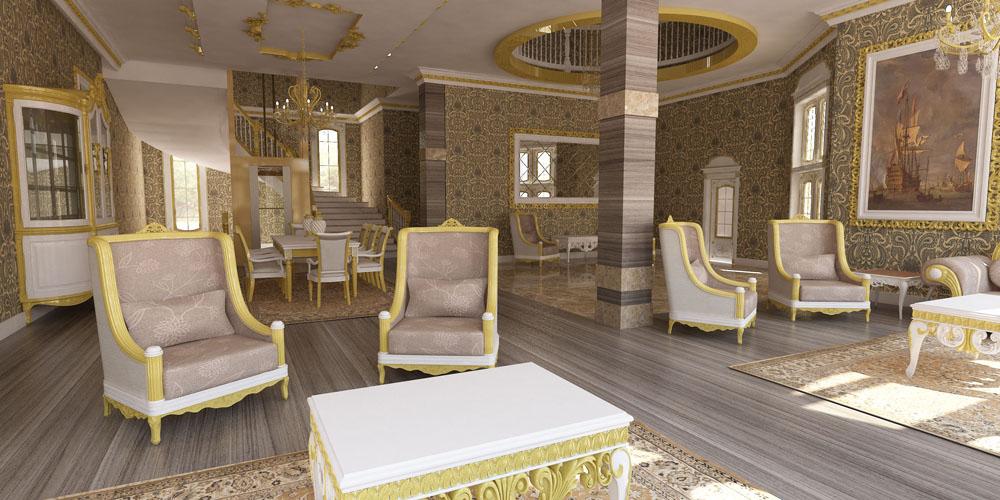 Şahsa Özel Villa Dekorasyon